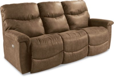 James PowerRecline La-Z-Timeu00ae Full Reclining Sofa
