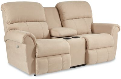 ... Reclining Loveseat w/ Console. Starting at. $1929.00. Reviews. Zoom. Close  sc 1 st  La-Z-Boy & Briggs PowerRecline La-Z-Time® Full Reclining Loveseat w/ Console islam-shia.org