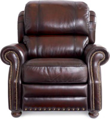 La z boy richfield high leg leather recliner - Jamison High Leg Recliner