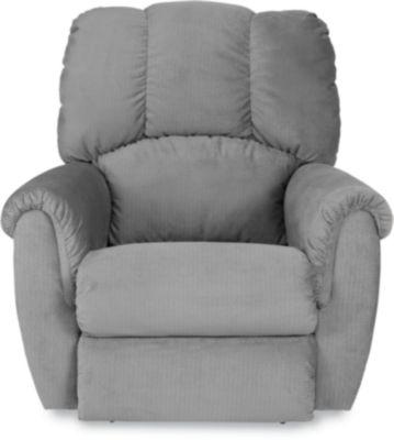 conner recliner - Black Leather Recliner