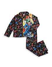 Two-Piece Justice League Pajama Set