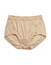 Bodysuede Lace Brief Panty