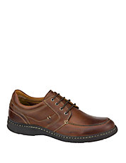 McCarter Leather Lace-Up Moc Derby Shoes