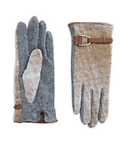 Patterned Wool Gloves