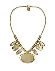 Stone Age Oval Statement Necklace