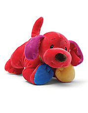Brights Colorful Stuffed Animal Puppy