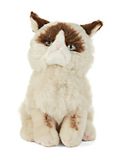 Stuffed Grumpy Cat Toy
