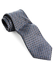Classic Fit Dot Printed Silk Tie