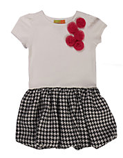 Girls 2-6x Rosette Party Dress