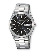 Mens Stainless Steel Dress Watch