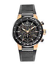 Mens F-80 Two-Tone Chronograph Watch