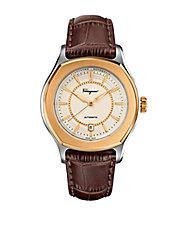 Mens Two-Tone Lungarno Automatic Watch