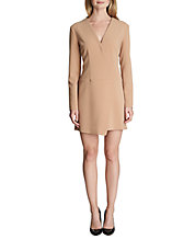 Victoria Faux Wrap Dress