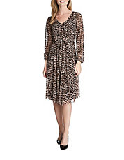 Avery Leopard-Print Dress