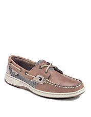 Bluefish Water-Resistant Leather Boat Shoes