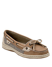 Anglefish Slip-On Leather Boat Shoes