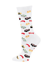 Sushi Print Trouser Socks