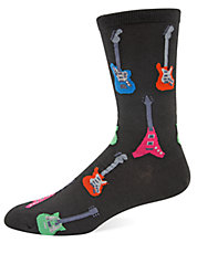 Guitar Knit Socks