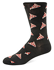 Pizza Pattern Socks
