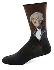 George Washington Knit Socks