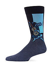 Old Guitarist Trouser Socks