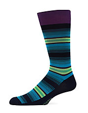Ombre Striped Socks