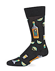 Tequila and Lime Trouser Socks