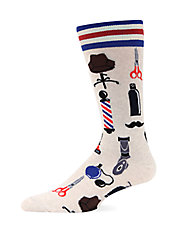 Barber Shop Trouser Socks