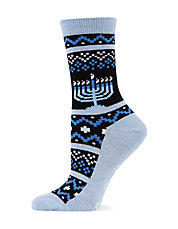 Menorah Crew Socks