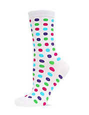 Dot Printed Trouser Socks