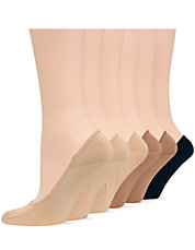 6-Pack Foot Liner Socks