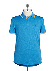 Heathered Performance Polo