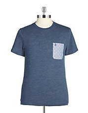 Printed Pocket Tee