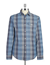 Tonal Checked Sportshirt