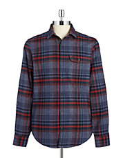 Plaid Flannel Sportshirt