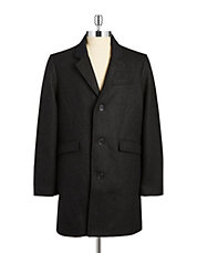 Aristo Contrast Lapel Coat