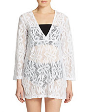 Lace-Look Coverup