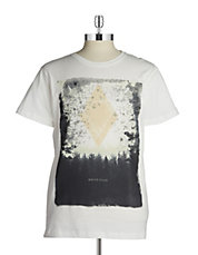 Faded Graphic Cotton Tee