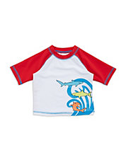 Baby Boys Shark Swim Tee