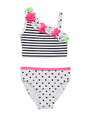 Baby Girls 2-Piece Flower Tankini