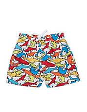 Baby Boys Multi-Shark Swim Trunks