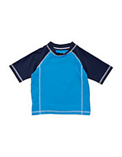 Baby Boys Colorblock Swim Shirt