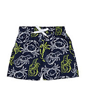 Baby Boys Crustacean Swim Trunks