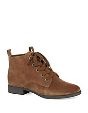 Charlie Lace Up Suede Boots