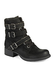 Graham Buckle Boots