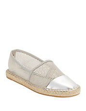 Lena Espadrilles and Mesh Slip-On Sneakers