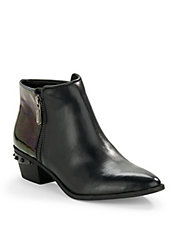 Holt Point Toe Booties