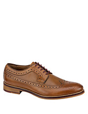 Conard Leather Brogue Wingtip Oxfords