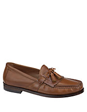 Aragon II Leather Tassel Loafers