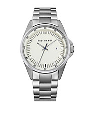 Mens Stainless Steel Bracelet Watch